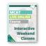 MCAT Live Online Weekend Classes