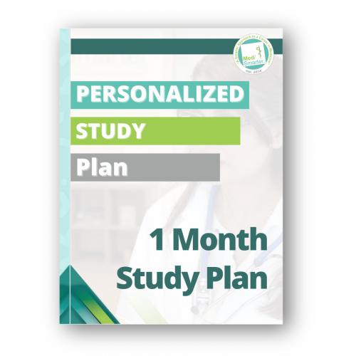 Medsmarter Personalized Study Plan