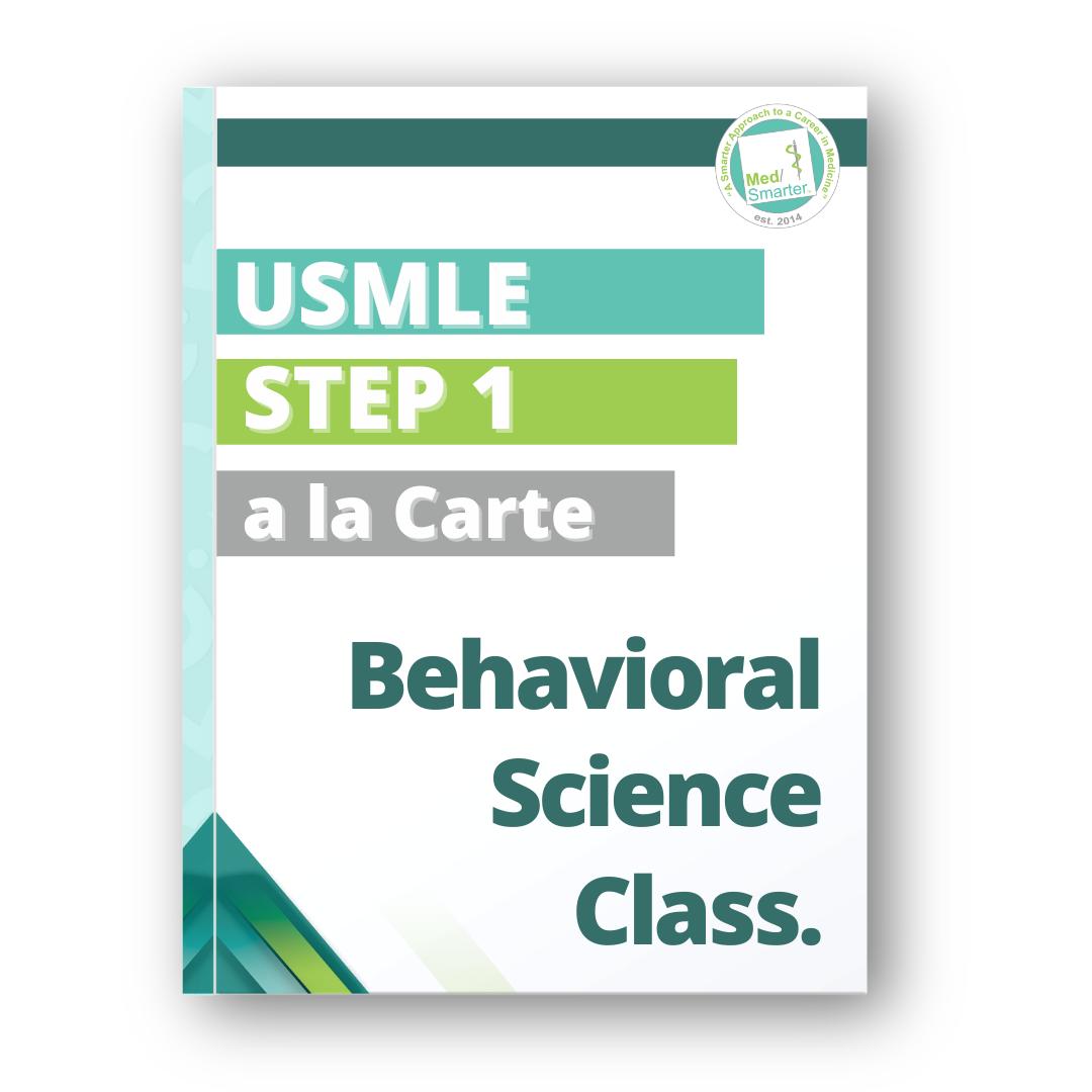 MedSmarter Behavioral Science a la Carte Class