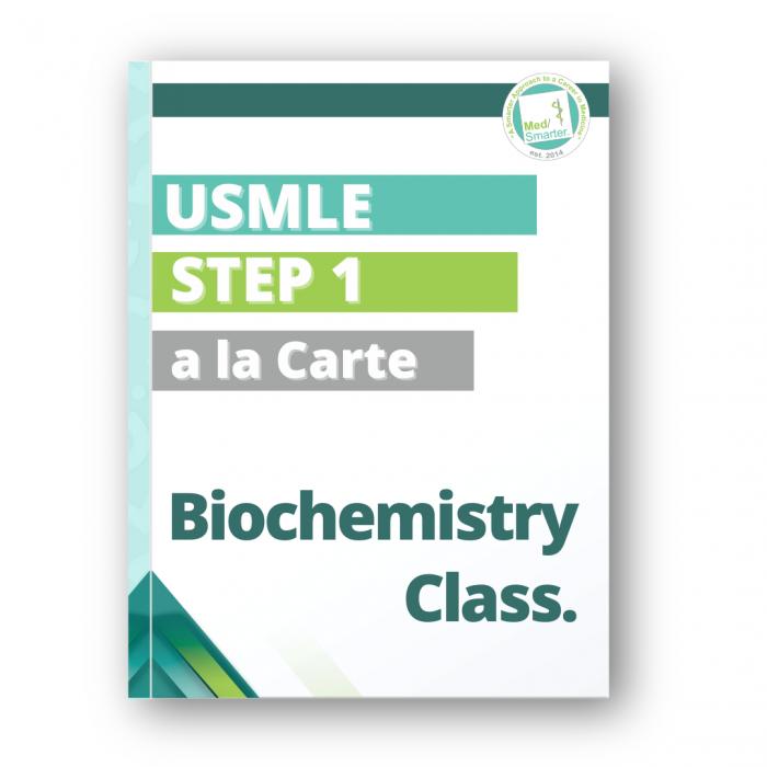 MedSmarter Biochemistry a la Carte Class