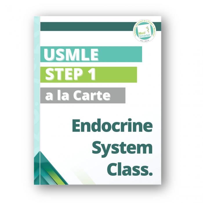 MedSmarter USMLE Step 1 Endocrine System a la Carte Class
