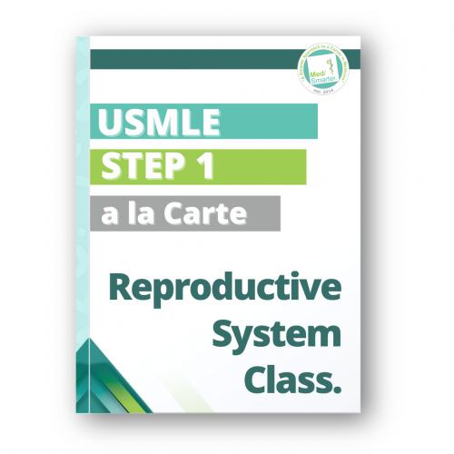 MedSmarter Step 1 Reproductive System a la Carte Class