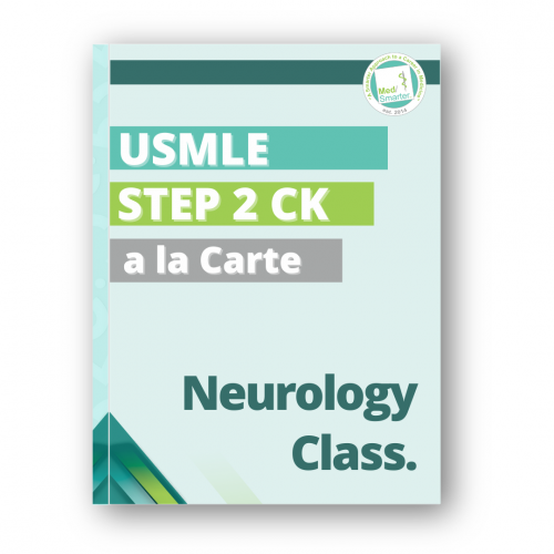 Medsmarter Step 2 CK Neurology Class