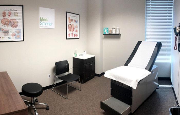MedSmarter facilities patient exam room