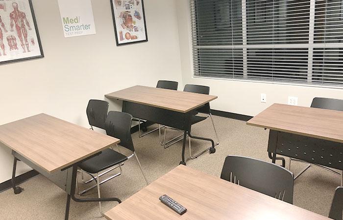 MedSmarter facilities forward facing classroom