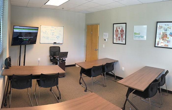 MedSmarter forward facing classroom