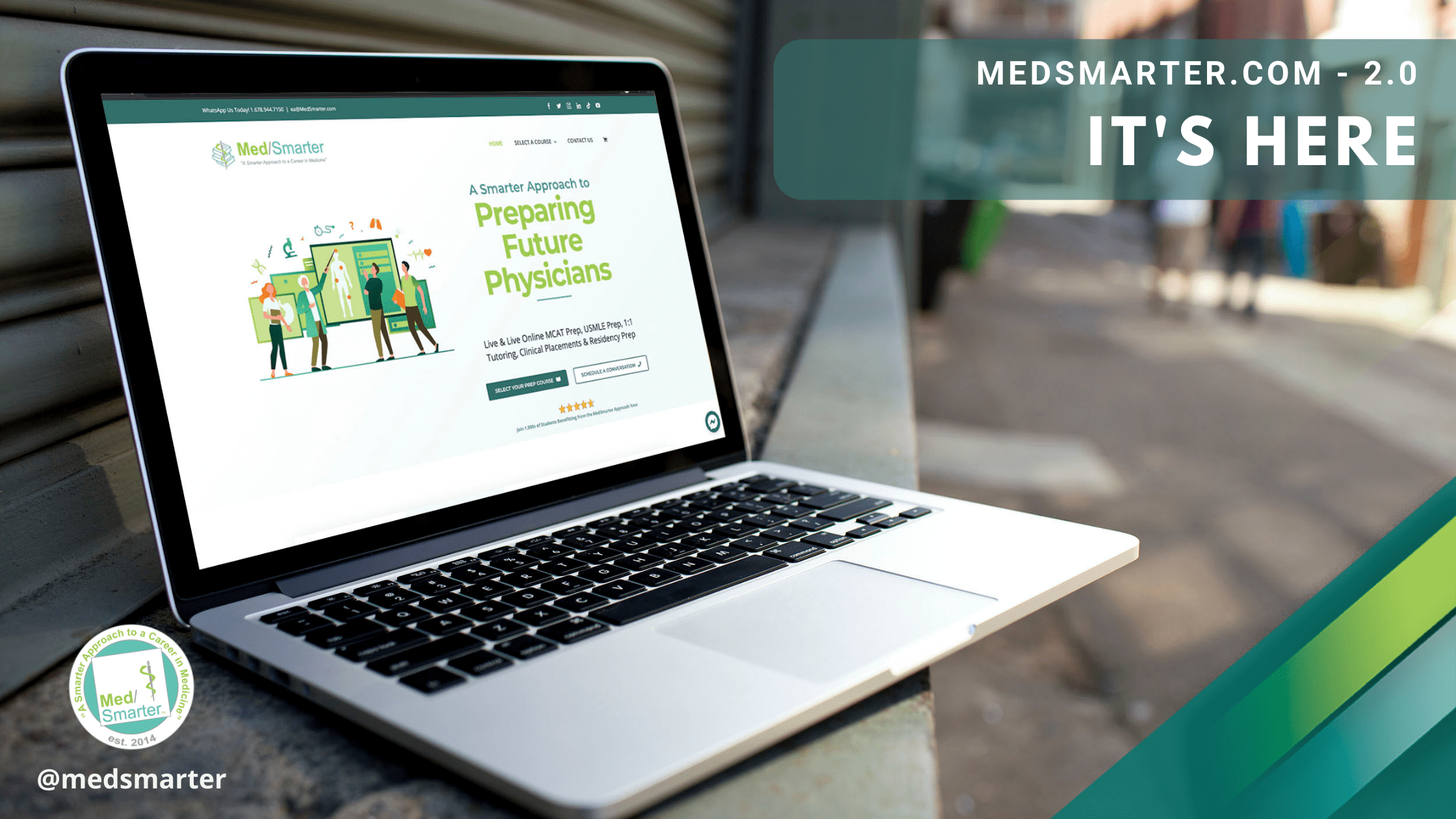 It's here! The Re-Designed Website Launch of MedSmarter.com 2.0