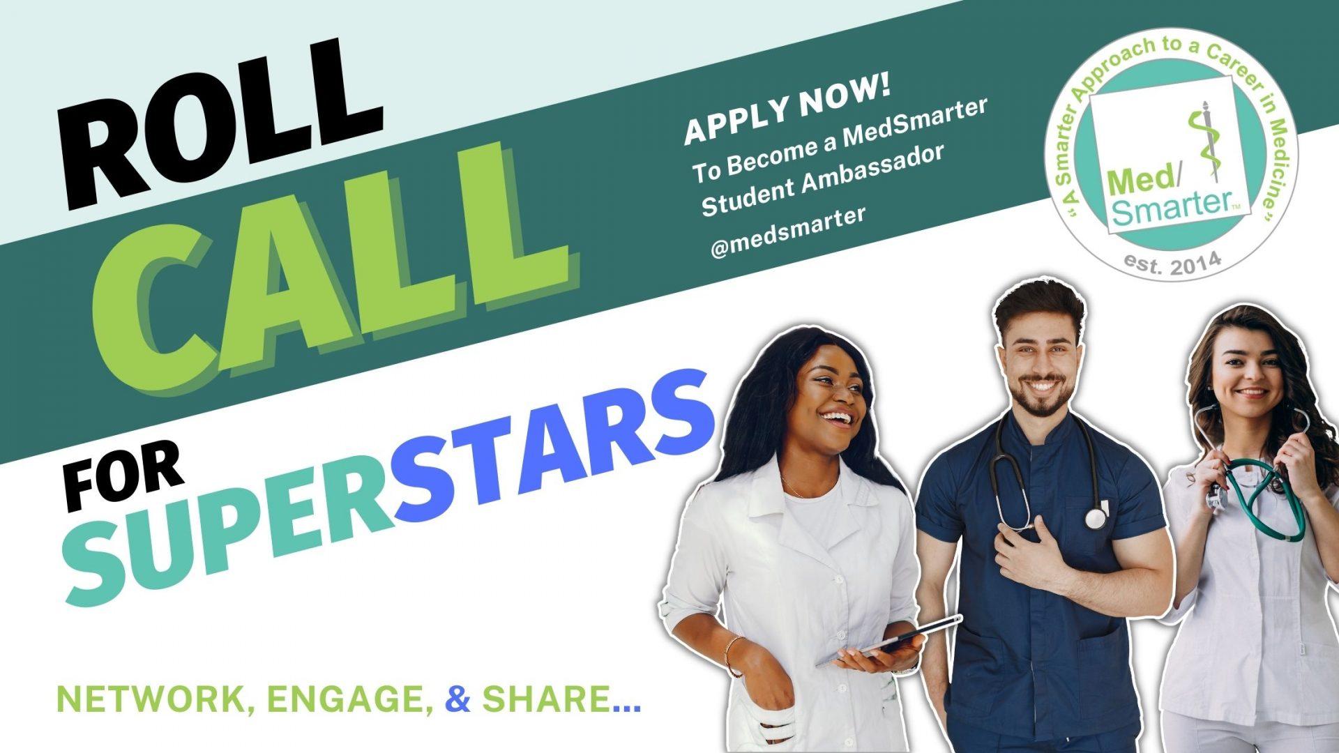 Join the MedSmarter Family: Become a Student Ambassador