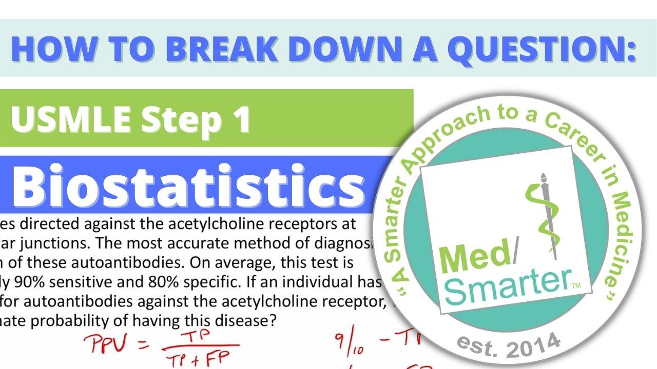 MedSmarter Question Break Down of the Week - Biostatistics - 06/23/2021