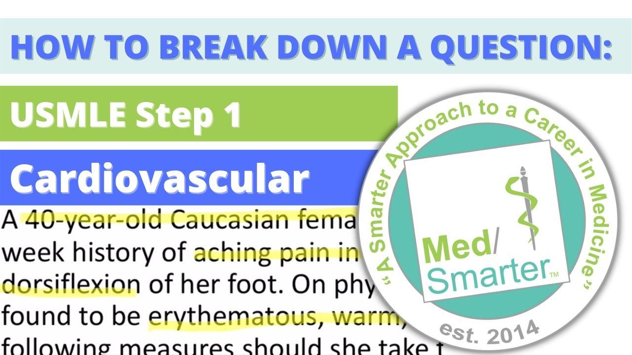 MedSmarter Question Break Down of the Week - Cardiovascular - 06/09/2021