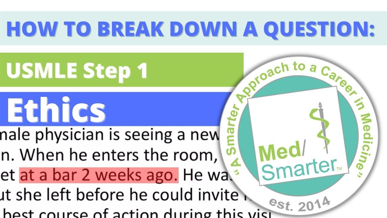 MedSmarter Question Break Down of the Week - Ethics - 06/16/2021