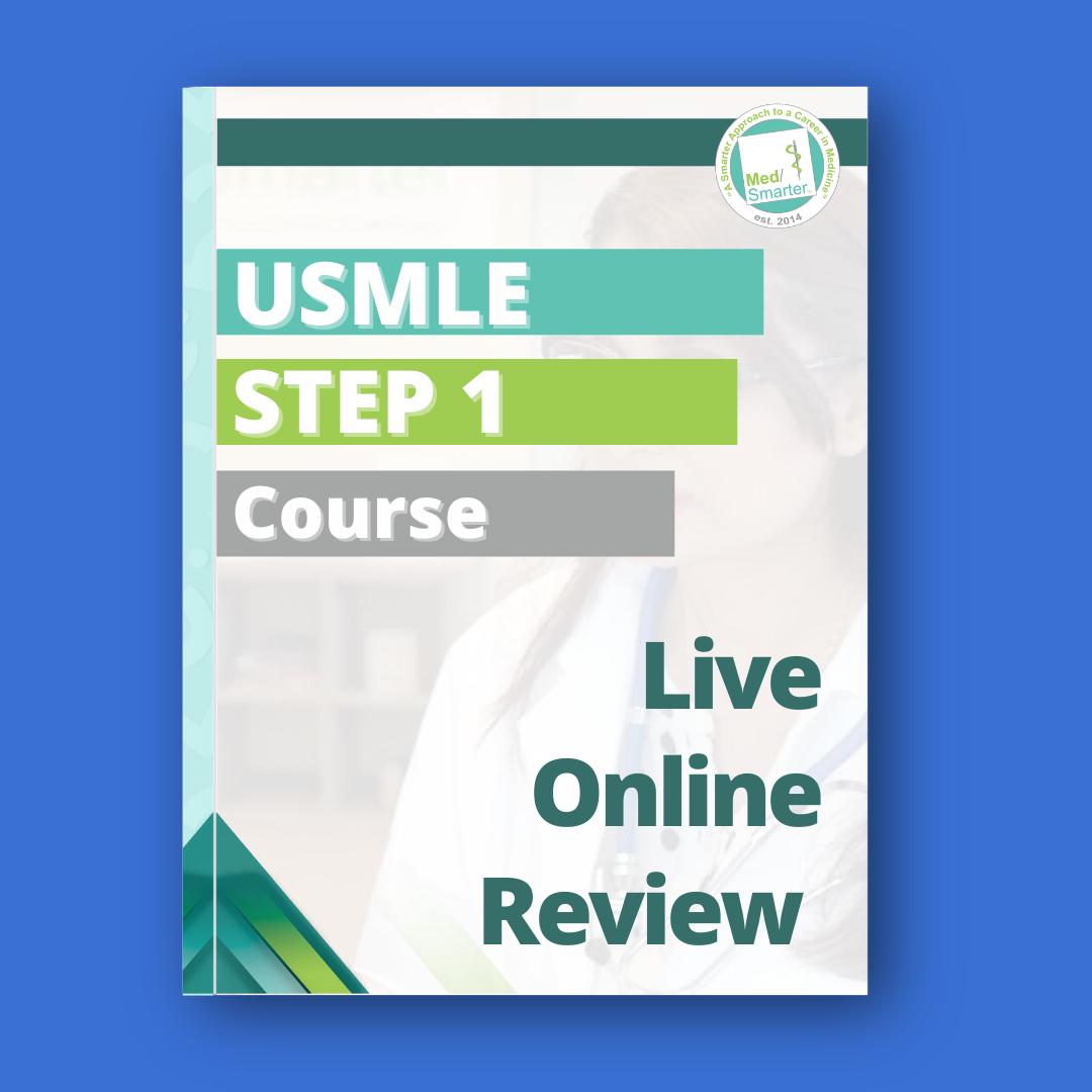 USMLE Step 1 Live Online Review Course Blue BG